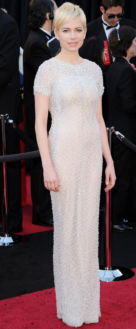 Michelle Williams Chanel dress 2011 Oscars