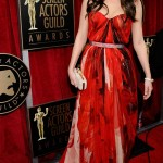 Mila Kunis red Alexander McQueen dress 2011 SAG Awards 3
