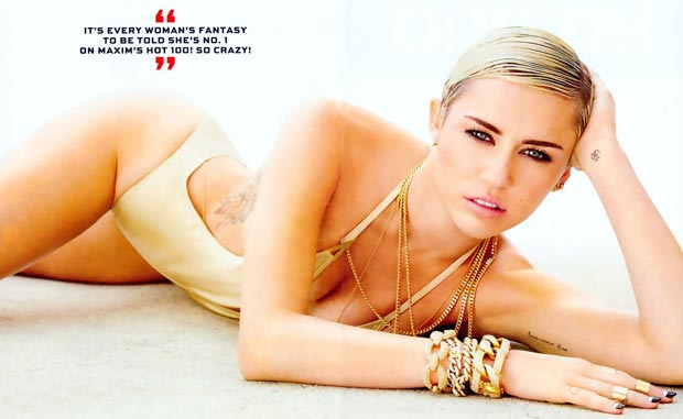 Miley Cyrus Hottest Woman Alive