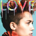 Miley Cyrus Love magazine Spring 2014 cover