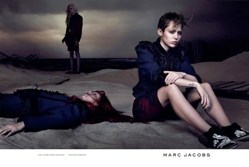 Miley Cyrus Marc Jacobs Ad campaign David Sims