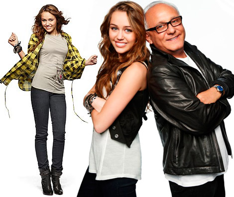 Miley Cyrus Max Azria Walmart collection