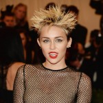 Miley Cyrus hairdo 2013 Met Gala
