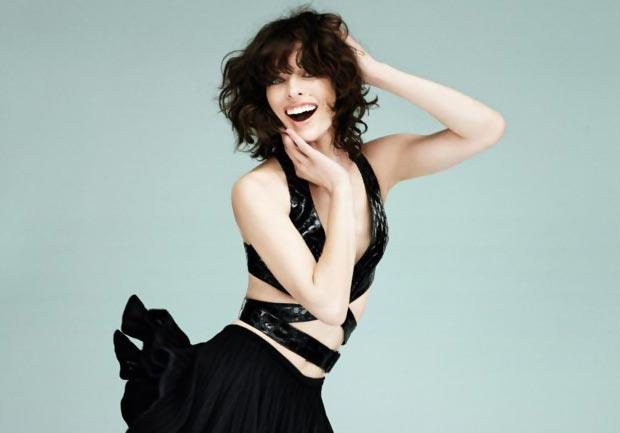 Milla Jovovich Vogue Turkey May 2013 pictorial