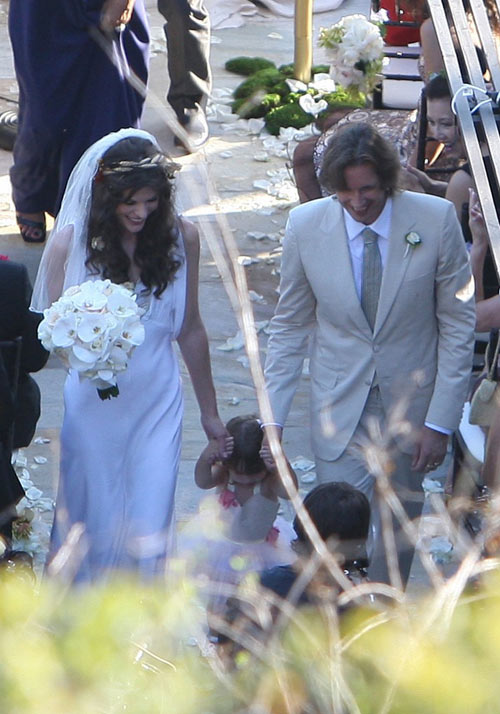 Milla Jovovich wedding 1