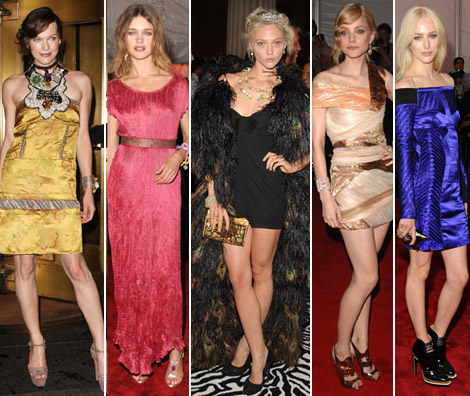 The Model As Muse: Embodying Fashion At Met Gala 2009