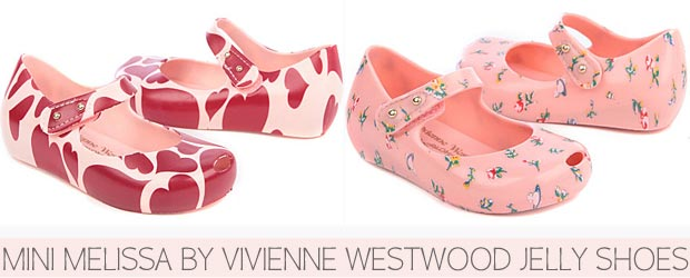 Mini Melissa Jelly Shoes by Vivienne Westwood