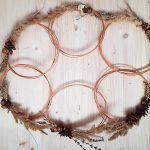 minimalist fall wreaths