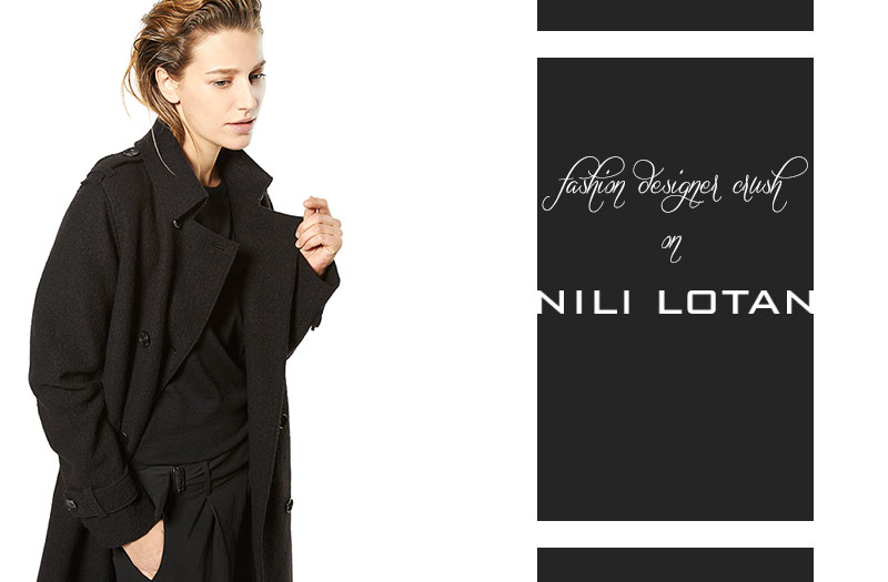 minimalist fashion designer to follow Nili Lotan
