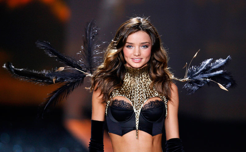 Miranda Kerr Victorias Secret 2009 fashion show 2