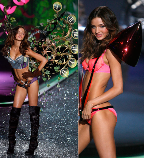 Miranda Kerr Victorias Secret 2009 fashion show