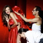 Miranda Kerr Victoria s Secret Holiday 2011 campaign