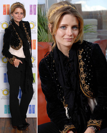 Mischa Barton Herbal Essence spokesface appearance