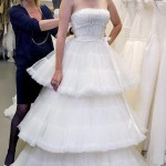 Mischa Barton Rosa Clara wedding dress