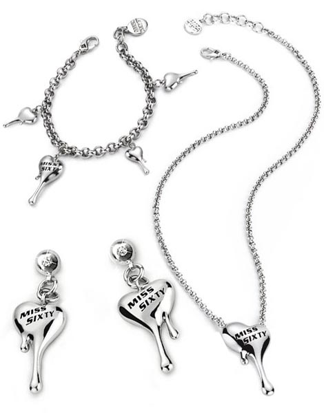 Miss Sixty Heartz Jewelry collection