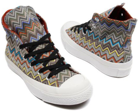 Missoni Converse Chuck Taylor sneakers Summer 2010