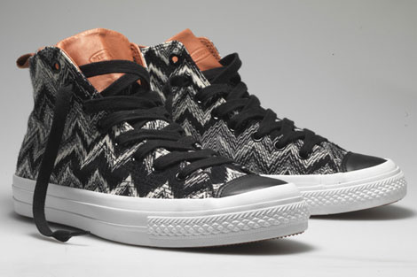 Missoni Converse sneakers fall 2010 zig zag
