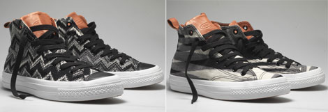 Missoni Converse sneakers fall 2010
