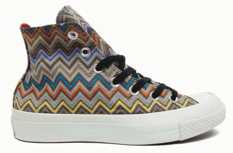 Missoni Converse Chuck Taylor Sneakers