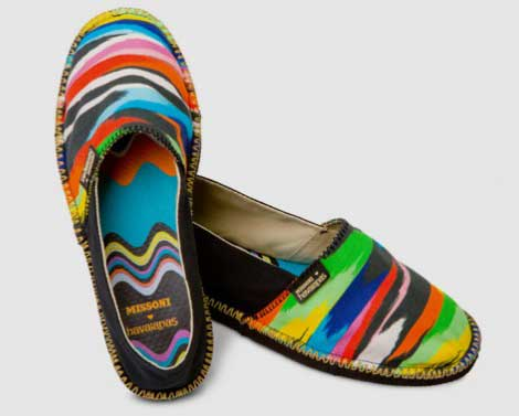 Missoni Havaianas. Get Ready For Summer!