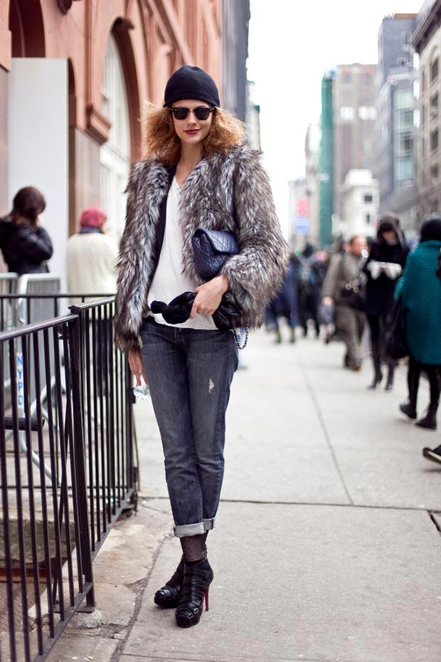 40 Models Winter Street Style Outfits For Inspiration!