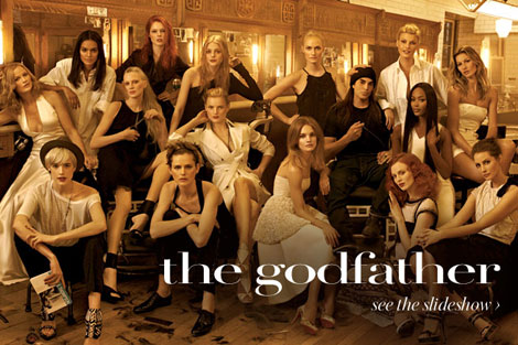 Models Meisel Godfather Vogue May 09