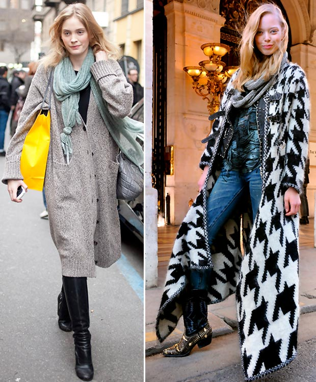 models off duty style long cardi