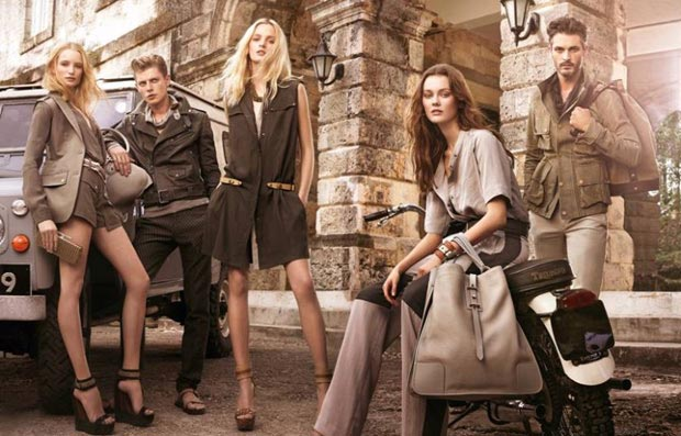 models Spring Summer 2013 Belstaff ad campaign