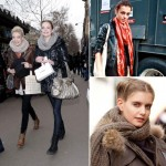 models street style scarf