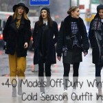 models street style winter outfit inspiration