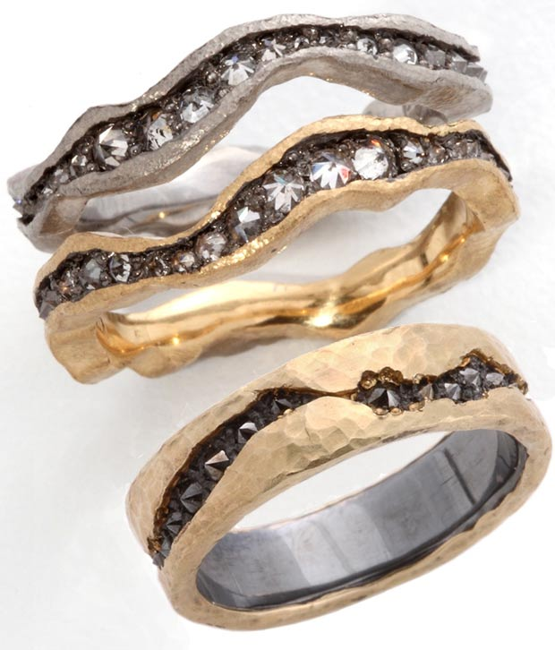 modern contemporary rings for her and him Tap by Todd Pownell