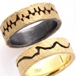 modern contemporary rings for men Tap by Todd Pownell