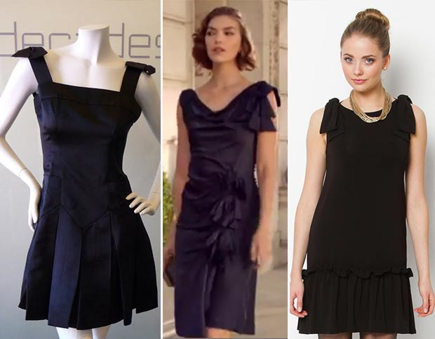 Modern Muse commercial dress similar Chanel Valentino