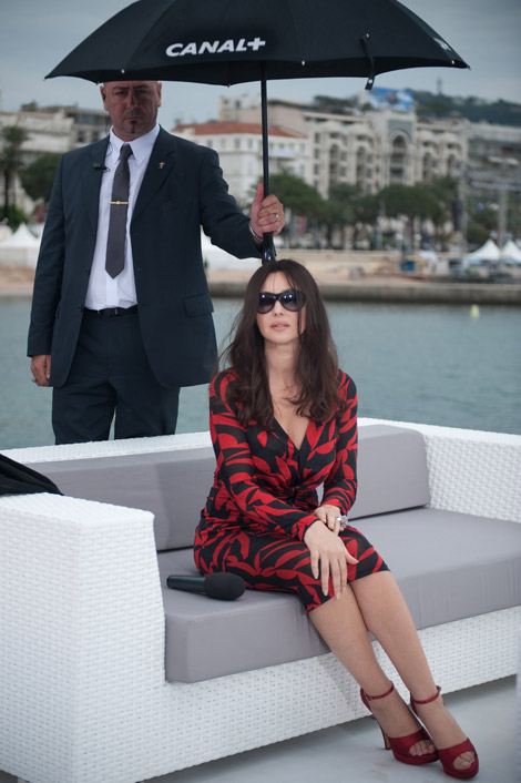 Only Monica Bellucci Cannes!