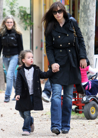 Monica Bellucci daughter Deva