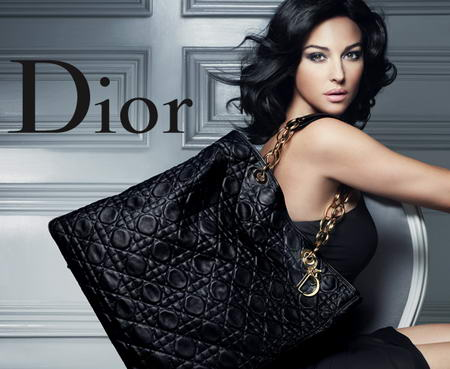 Monica Bellucci Dior Handbags Ads