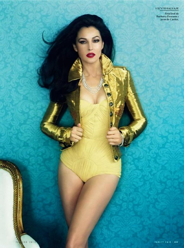 Monica Bellucci latest pictorial Vanity Fair Spain