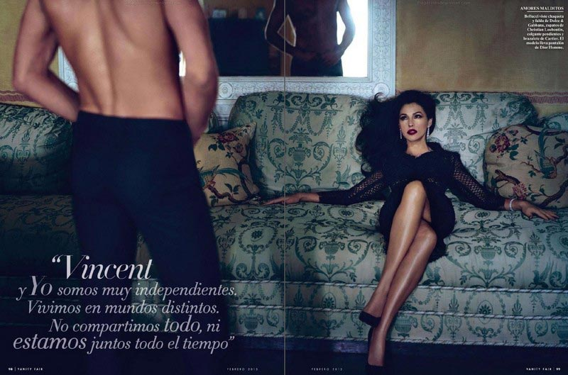 Monica Bellucci Vanity Fair Espana pictorial