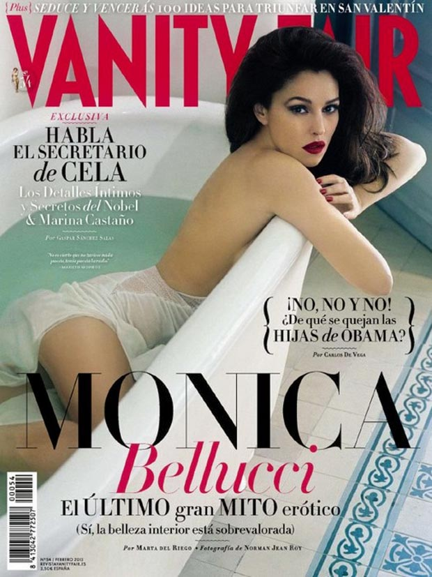 Monica Bellucci's Ageless Beauty In Vanity Fair Spain February 2013