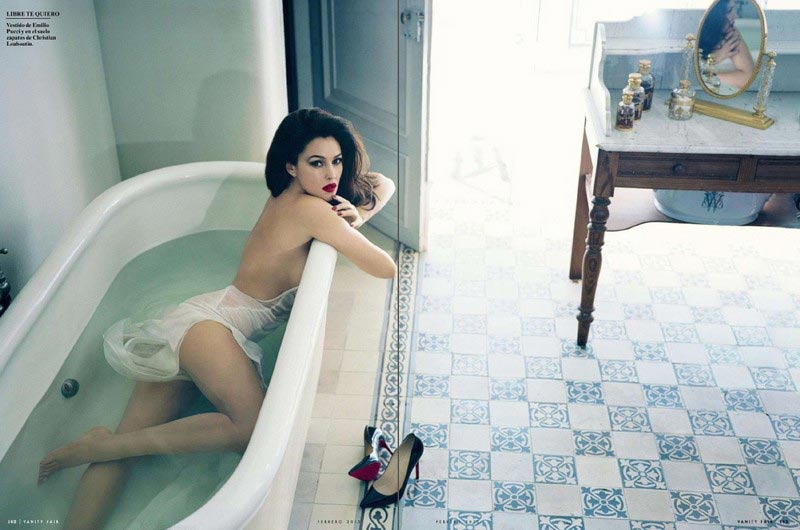 Monica Bellucci Vanity Fair Spain Norman Jean Roy