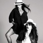 Penelope and Monica Cruz for Mango Spring Summer 2008
