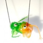 Monster Toy Necklace