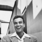 Montgomery Clift laughing