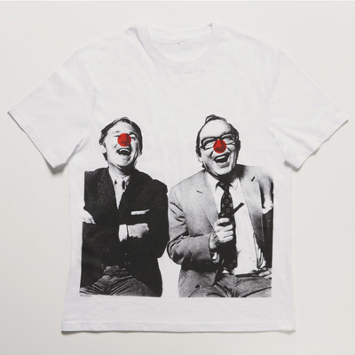 Morecambe and Wise t shirt Comic Relief Stella McCartney