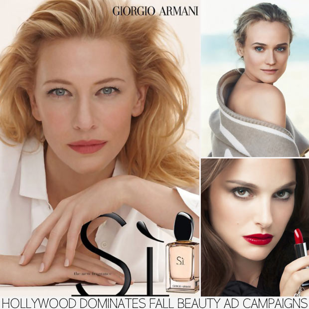 3 Successful Actresses Leading Fall's Beauty Ad Campaigns