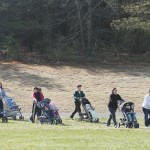 Mothers with Strollers in the park