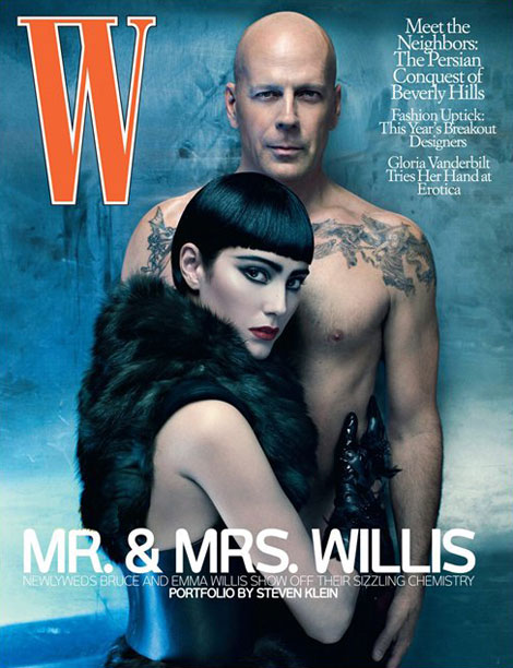 Mr Mrs Willis W Magazine July 2009 cover