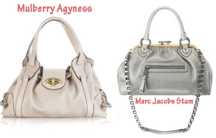 Mulberry Agyness Bag Vs Marc Jacobs Stam Bag
