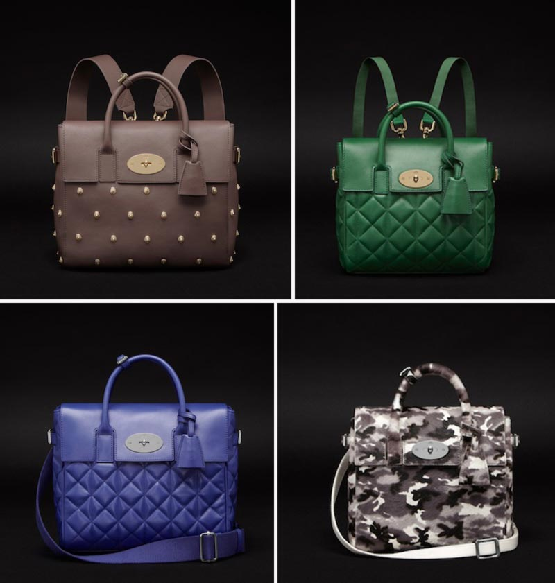 Mulberry Cara Delevingne bags