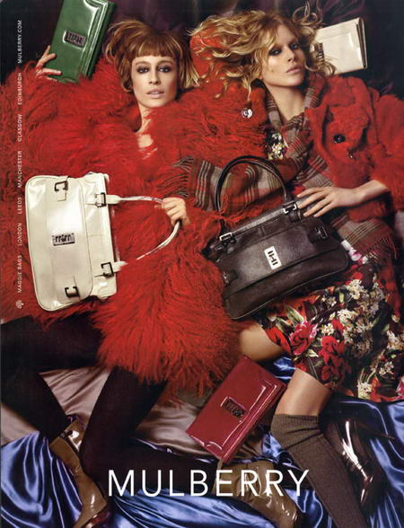 Mulberry Fall Winter 2008 2009 Advertising Campaign